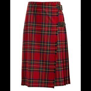 Burberry Taybridge Tartan Plaid Skirt
